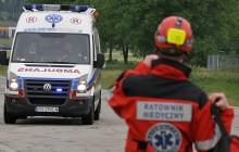 Zelczyna: Groźny wypadek  dwóch autobusów z dziećmi  - 13 osób poszkodowanych