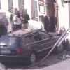 Myślenice: Nieostrożny kierowca wjechał w siedzibę starostwa