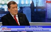 Rektor AGH wysyła profesora Jacka Rońde przed Uczelnianą Komisję Etyki