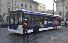 Pierwsze autobusy z silnikiem Euro 6 w Krakowie [zobacz zdjęcia]