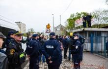 Zakończyła się eksmisja przy Jana Pawła II -Miasto przejęło kolejną działkę pod budowę Lema [ zdjęcia ]