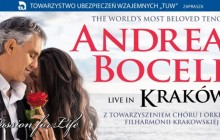 Andrea Bocelli wystąpi w Krakowie