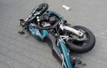 Muszyna ? zderzenie motocykla z samochodem, nie żyje motocyklista [ zdjęcia ]