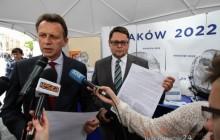 List poparcia dla zimowych igrzysk w Krakowie