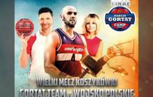 Gortat z gwiazdami kontra polska armia
