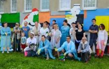 Pogromcy Bazgrołów odnowili zniszczony mural [ zdjęcia ]