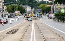 Na Zjeździe z tramwajami