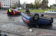 Wypadek w Krakowie: Egzaminacyjna