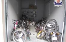 Policjanci zlikwidowali ?dziuplę rowerową? i odzyskali aż 68 rowerów