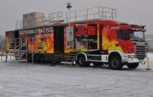 Mobilny trenażer rozgorzeniowy pomógł przeszkolić ponad 2000 strażaków