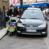 Mistrz parkowania w centrum Krakowa - odjechał na lawecie... [ zdjęcia ]