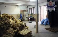 Wytwórnie tytoniu zlikwidowane, przemyt udaremniony