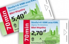 Na wspólnym bilecie z Wieliczki do Krakowa