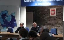 Komendant Wojewódzki podsumował pracę małopolskich policjantów za rok 2014