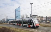 Tramwaj SOLARISA na testach w Krakowie
