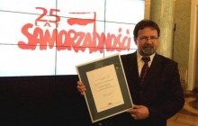 Waldemar Domański laureatem Nagrody Obywatelskiej 25?lecia Samorządności