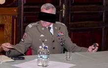Generał Mieczysław B. zatrzymany za jazdę na