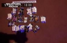 Kolejne zatrzymania sprzedawców dopalaczy w Krakowie