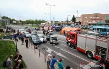 Kraków: Tir staranował kilkanaście samchodów, wiele osób jest rannych [ zdjęcia + video ]
