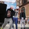 Bollywoodzka muzyka i taniec na krakowskim Rynku [zdjęcia ]