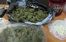 Narkotyki w walizce - diler kibic w policyjnym areszcie [ wideo ]