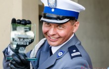 podinsp. Robert Górka Policjantem Roku 2015 w Małopolsce [zdjęcia ]