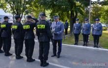 Uroczyste ślubowanie nowo przyjętych policjantów [ zdjęcia ]
