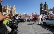W Krakowie kręcili spot promujący ŚDM 2016 [ zdjęcia ]