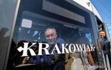 Estakada otwarta -  debiut nowego tramwaju
