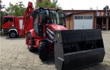 Koparko-ładowarka dla krakowskiej straży pożarnej