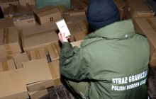 Podrobione perfumy warte prawie 2 miliony złotych w rękach Strażników Granicznych