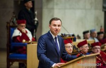 Prezydent RP na inauguracji 652. roku akademickiego na Uniwersytecie Jagiellońskim [zdjęcia ]
