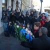 Beata Szydło złożyła kwiaty pod francuskim konsulatem[ zdjęcia ]