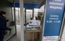 Rondo Mogilskie: nowy punkt informacyjny, nowa toaleta [ zdjęcia ]