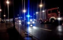 Tragiczny wypadek na Kuklińskiego. Jedna osoba nie żyje [Wideo]
