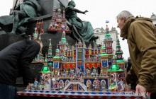 Krakowskie Szopki królowały na Rynku [ zdjęcia ]