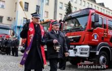 Małopolscy Strażacy Ochotnicy otrzymali nowe wozy  [ galeria zdjęć }
