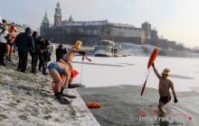 Oni mrozu się nie boją - II Krakowski Spływ Morsów [ zdjęcia ]