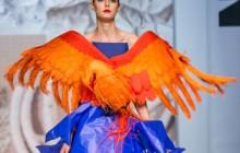 Junk Fashion Show - Papier, gotyk i moda w SAPU [ zdjęcia ]