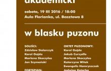 Akademia Muzyczna w Krakowie: ?W blasku puzonu? [ zaproszenie ]