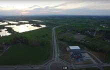 ŚDM: Brzegi z lotu ptaka [ wideo ]