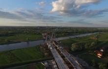 Budowa Wschodniej Obwodnicy Krakowa - Droga Ekspresowa S7 [ film z drona ]