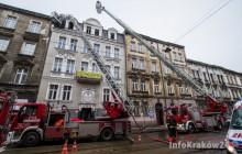 Pożar na Starowiślnej. Nie żyje jedna osoba ( zdjęcia )