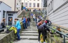 85 koncepcji przebudowy schodów w Podgórzu