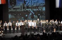 20-lecie Krakowskiej Straży Miejskiej w Teatrze Słowackiego - uroczysta gala ( zdjęcia )