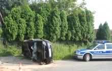 Batowice: Opel Meriva dachował - było groźnie ( zobacz zdjęcia )
