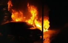 Strażnicy Miejscy ugasili płonący samochód