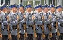 Nowi funkcjonariusze w małopolskim garnizonie Policji.