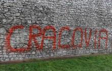 Nastoletni wandale odpowiedzą za uszkodzenie elewacji zabytkowej synagogi (zdjęcia)