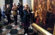Zaginiony obraz Matejki prezentowany na Wawelu [ZDJĘCIA]